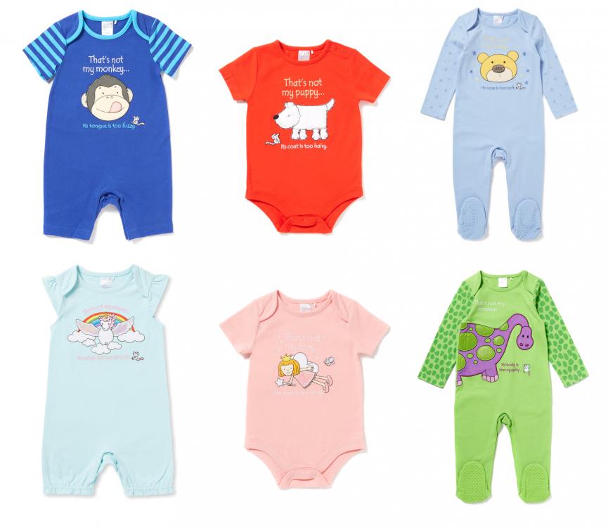 (UF) NEW 'That's Not My...' Baby Clothing @ Argos & Tu
