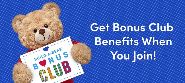 Build-a-Bear Bonus Club logo