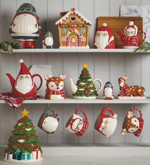 (UF) Christmas Novelty Kitchen Range From £3.50 @ Asda George