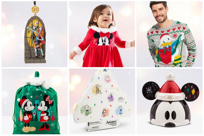 Disney Christmas Shop Now Open @ Shop Disney