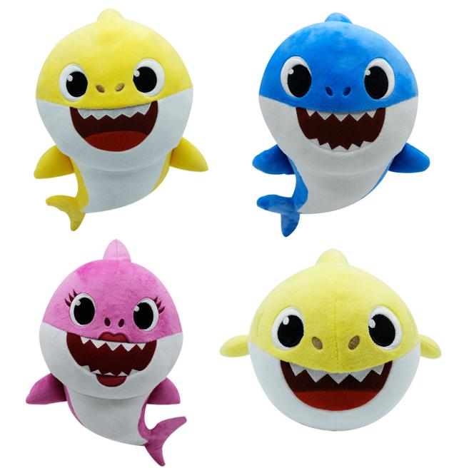 Baby Shark singing plush toys