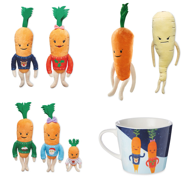 Kevin The Carrot Toys, Gifts & More Coming To Aldi
