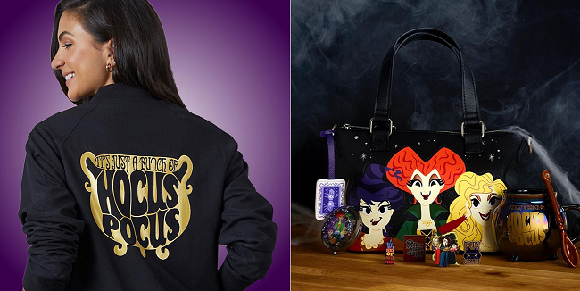 Hocus Pocus collection at Shop Disney