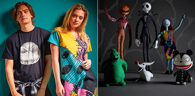Nightmare Before Christmas collection at Shop Disney