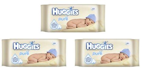 Huggies Pure Baby Wipes 87p @ Wilkinsons
