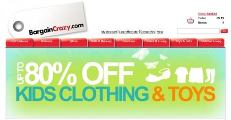 Bargain Crazy Online Promotional Code: 25% Off