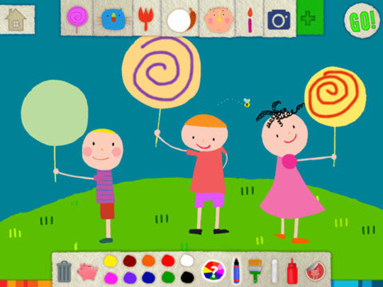 Five Great iPad Drawing Apps