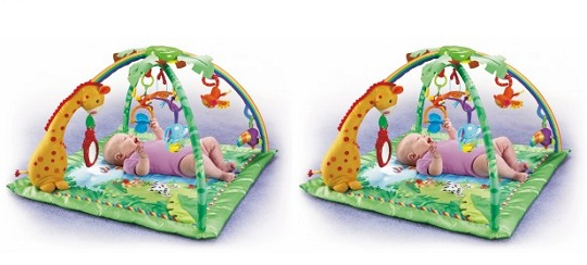Fisher Price Rainforest Melodies And Lights Deluxe Gym For £54.99 @ Baby City