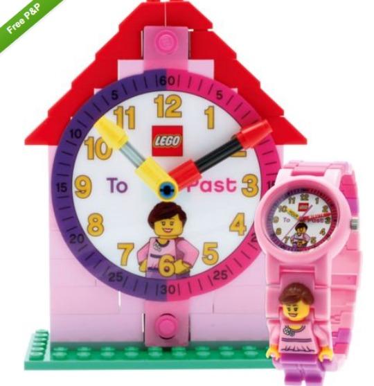 Lego Time Teacher Girls' Watch & Clock Set £11 Delivered @ Amazon