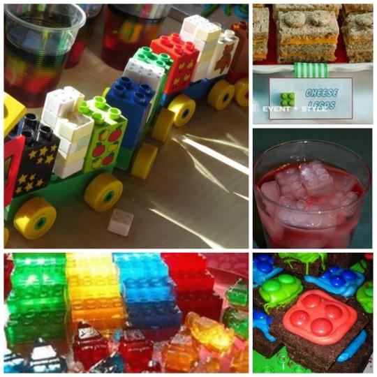 LEGO Party Food Ideas