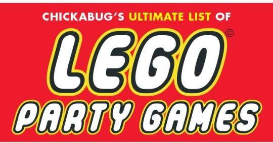 LEGO Party Game Ideas