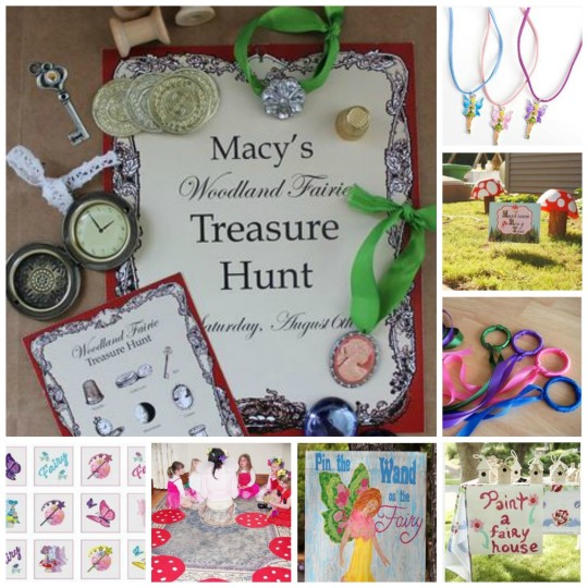 Tinkerbell Fairy Party Games