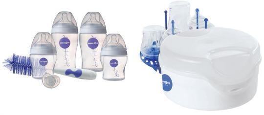 Purely Simple Infant Starter Kit £2.96 & Microwave Steriliser £4.96 Delivered @ Babies R Us