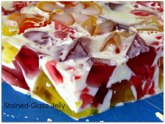 Fun Stained Glass Jelly Recipe