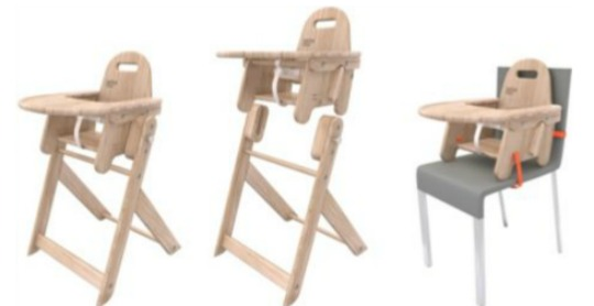 Brother Max Sketch 2-In-1 Wooden Highchair £39.99 Delivered @ Argos