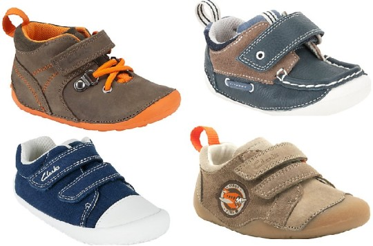 Toddler Boys' Clarks Shoes From £7.50 @ John Lewis