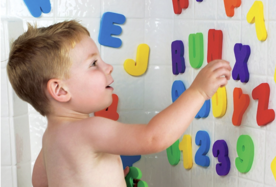 Carousel Stick On Bath Numbers and Letters £3.50 Was £5 @ Tesco Direct