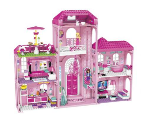 Mega Bloks Barbie Build 'n' Style Luxury Mansion Half Price £39.99 @ Argos
