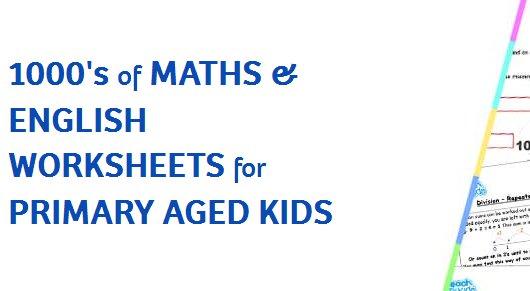 10% Off Annual Maths & English Worksheet Subscription @ Teach My Kids