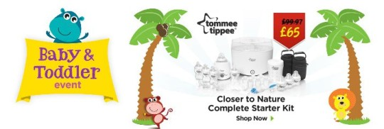 Update: ASDA Baby & Toddler Event Now Live