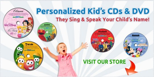 3 Free Personalised Songs Sung By Sesame Street's Elmo