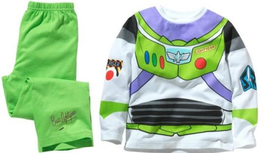 Disney Toy Story Buzz Lightyear Boys' Pyjamas £4.99 @ Argos