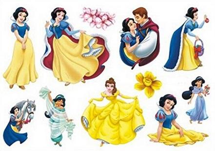 Disney Princess Tattoos 42p Delivered @ Amazon