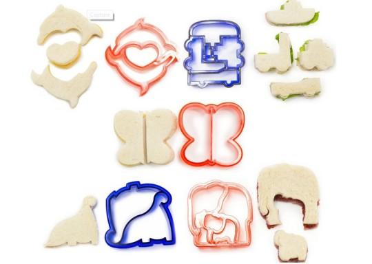 Five Shaped Children's Sandwich Cutters £8.89 @ Play.com