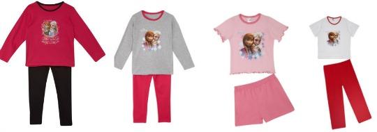 Girl's Disney Frozen Pyjamas From £5.99 Delivered @ TKMaxx