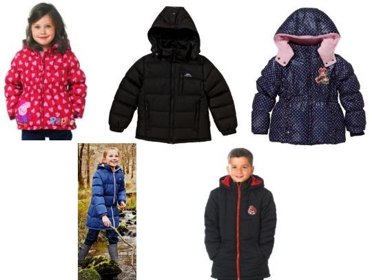 Children's Winter Coats From £8 @ Argos