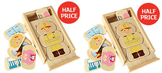 Grow & Play Misfits Puzzle £2.49 @ Sainsburys