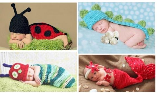Newborn Crochet Fancy Dress From £3.88 @ Amazon