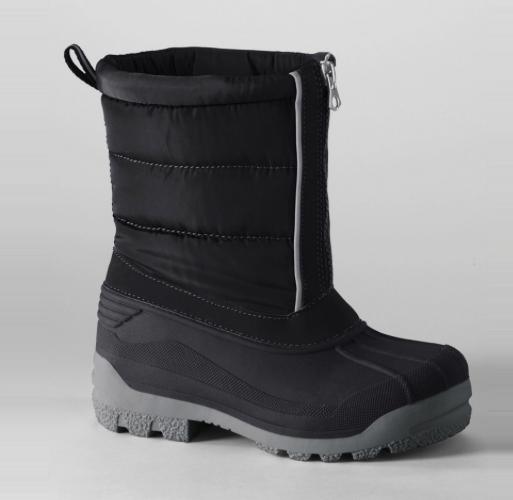 Lands' End Kids' Snow Plough Boots £19.97 (Was £39.95) @ Debenhams