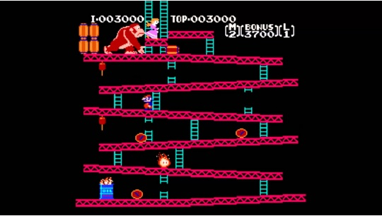Freebie! Play Donkey Kong Online