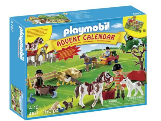 Playmobil Advent Calendar Pony Farm £14.24 Delivered @ Argos
