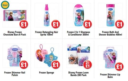 Frozen Toiletries & Jewellery @ Poundland