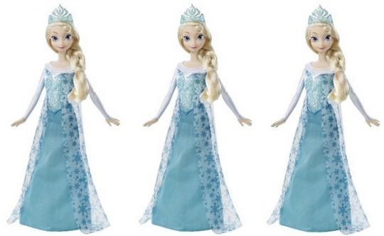 Pre-order: Disney's Frozen Sparkle Elsa Doll £13.59 Delivered @ Amazon