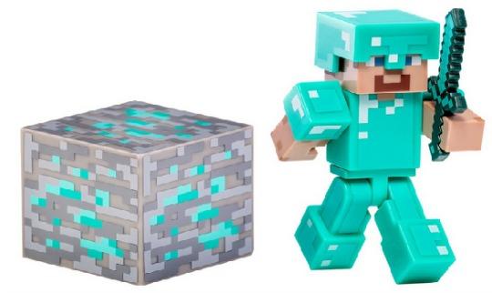 Minecraft Diamond Steve Action Figure £6.39 @ Amazon