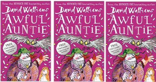 Pre-order David Walliams Awful Auntie Hardcover Book £5 @ Amazon