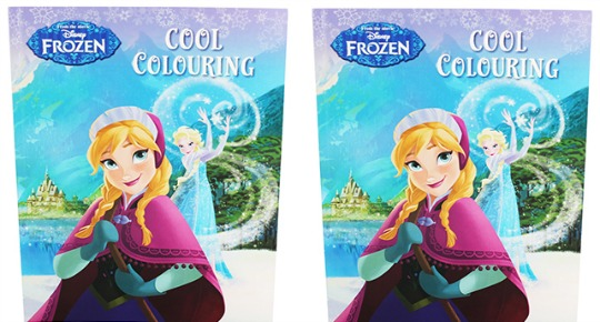 Disney's Frozen Colouring Book £1.20 Delivered (With Code) @ The Works