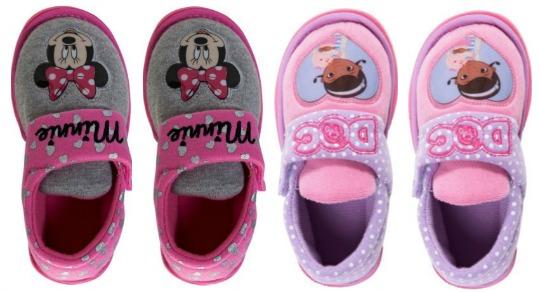 Doc McStuffins & Minnie Mouse Slippers £2.39 @ Argos