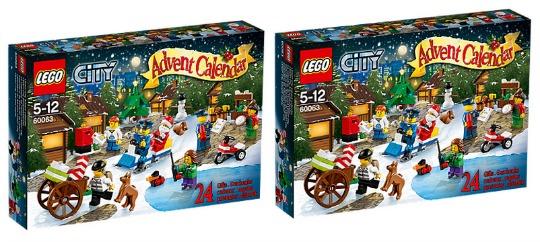 Lego City Advent Calendar £15.97 @ Asda Direct