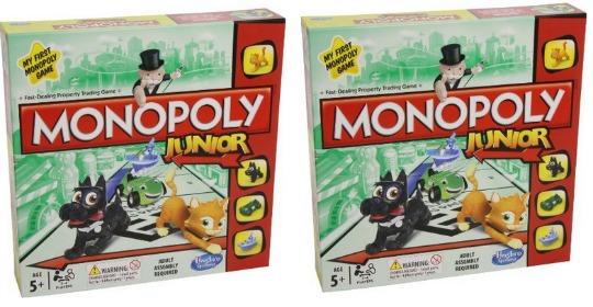 Monopoly Junior £8.54 @ Amazon