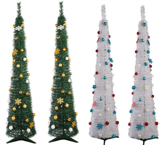 Pop Up 6FT Green/White Christmas Trees £15.94/£14.94 Delivered @eBay/Argos Outlet