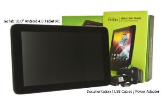 """Quick! Gotab 10"""" LED Tablet £7.98 Delivered @ Misco"""