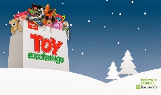Argos Toy Exchange: Donate A Toy & Get £5 Off £35 Spend Voucher