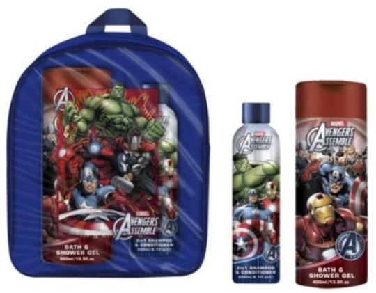 Avengers Assemble Back Pack Gift Set £3.50 @ Tesco Direct