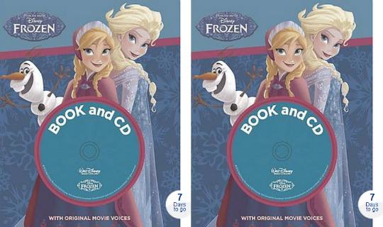 Frozen Book & CD £4 Delivered @ Asda Direct (Released 6th November)