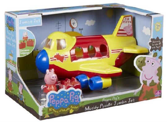 Peppa Pig Muddy Puddle Jumbo Jet £15.39 Delivered @ Amazon