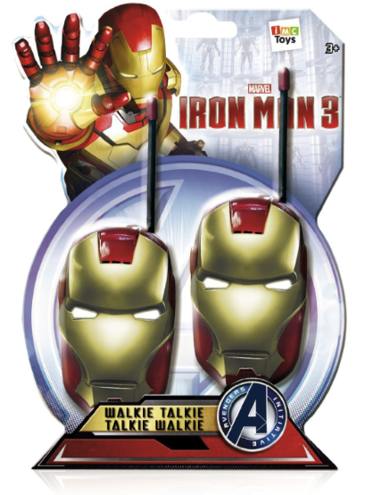 Iron man 3 Walkies Talkies £10.98 Delivered (Was £14.99) @ Big Red Warehouse